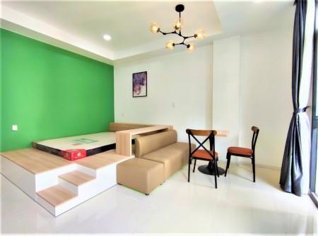 Căn hộ cao cấp quận Tân Bình - gần công viên Hoàng Văn Thụ cao cấp, 35m2, 1 phòng ngủ, 1 toilet