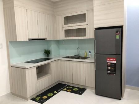 Cho thuê căn hộ safira khang điền 2PN 6,2tr có rèm máy lạnh, bếp từ, tủ bếp trên dưới, dàn phơi, hút mùi, 76m2, 2 phòng ngủ, 2 toilet