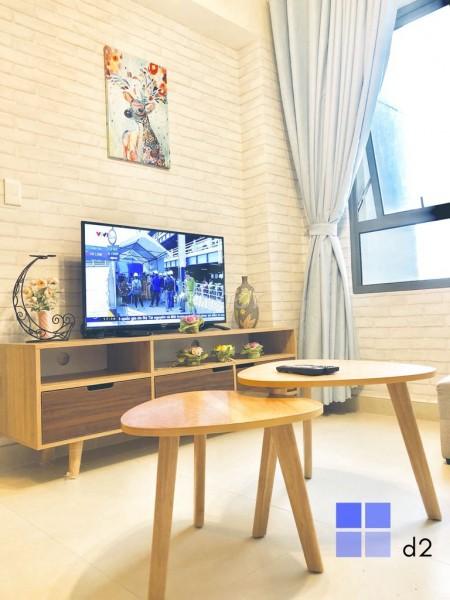 Cho thuê căn hộ cao cấp tại chung cư Masteri Thảo Điền, 58m2, 2PN, Nhà mới tinh, mát mẽ, view đẹp, 58m2, 2 phòng ngủ, 2 toilet