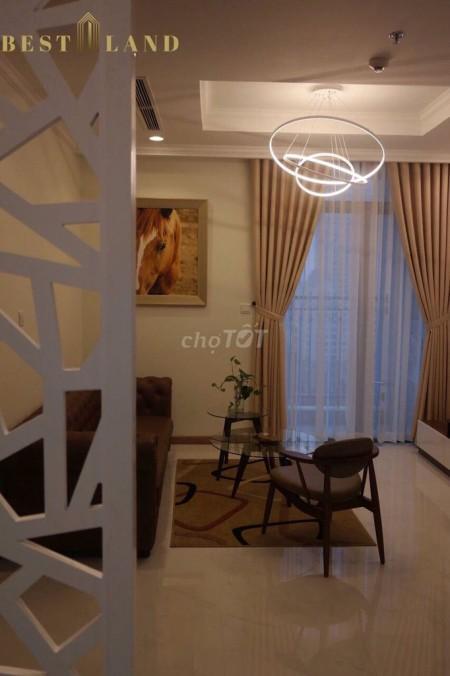 Cho thuê căn hộ tại dự án chung cư cao cấp Vinhomes Central Park, đẹp tuyệt phẩm, giá cực kỳ hấp dẫn, 80m2, 2 phòng ngủ, 2 toilet