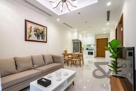 Cho thuê căn hộ cao cấp 1PN, 1WC, 54m2, Đầy đủ nội thất cao cấp tại chung cư Vinhomes Central Park, 54m2, 1 phòng ngủ, 1 toilet