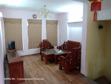 Cho thuê nhà riêng tại Trần Hòa, Hoàng Mai, 55m2, 4 tầng, 9tr, có thương lượng., 55m2, 3 phòng ngủ,