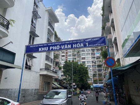 Cho thuê chung cư Sư Vạn Hạnh 2 phòng ngủ phường 9 quận 5, 54m2, 2 phòng ngủ, 1 toilet