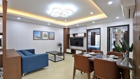 [ID: 893] Cho thuê căn hộ dịch vụ tại Lạc Long Quân, Tây Hồ, 85m2, 2PN, đầy đủ nội thất mới hiện đại, 85m2, 2 phòng ngủ, 2 toilet