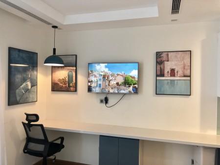 Cho thuê căn hộ Studio 30m2 nội thất cao cấp 5* giá thuê rẻ nhất Vinhomes Greenbay. LH: 0968714626, 30m2, 1 phòng ngủ, 1 toilet