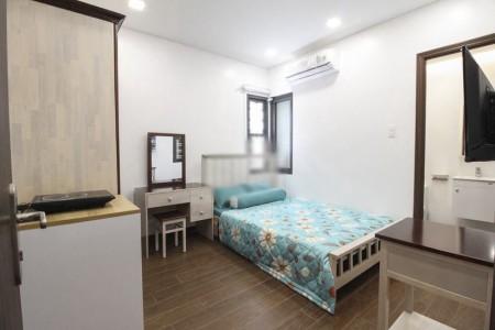 Cho thuê căn hộ dịch vụ mới hoàn thiện, Full nội thất, gần chợ Phạm Văn Hai, quận Tân Bình. Giá từ 4 triệu, 28m2, , 1 toilet