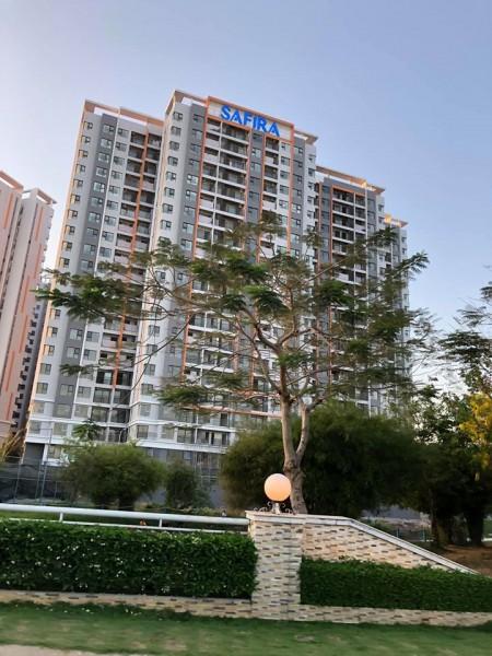Cho thuê căn hộ Safira Khang Điền căn góc 68m2 gồm 2PN, 2WC có máy lạnh, rèm cửa 6.5 triệu bao phí,LH: 0906244927, 67m2, 2 phòng ngủ, 2 toilet