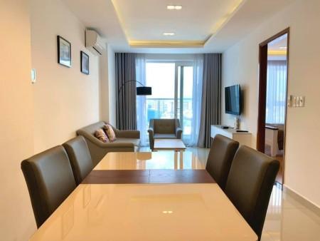 Căn hộ Sky Center tiện nghi đẹp , 2PN, DT 74m2, tầng cao thoáng mát - Giá 16Tr, 74m2, 2 phòng ngủ, 2 toilet