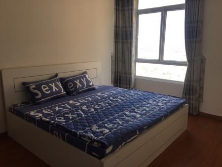 Cho thuê căn hộ chung cư Quốc Cường Giai Việt Quận 8, 105m2, 3 phòng ngủ, 2 toilet