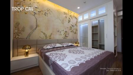 CHO THUÊ CĂN HỘ CHUNG CƯ GRAND RIVERSIDE QUẬN 4, 112m2, 3 phòng ngủ, 2 toilet