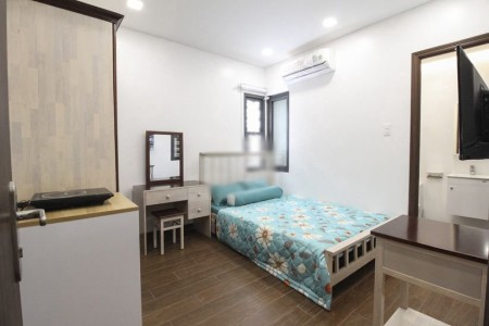 Phòng cho thuê đầy đủ nội thất, mới xây xong, gần chợ Phạm Văn Hai, quận Tân Bình. Chỉ cần mang vali đến ở ngay, 18m2, , 1 toilet