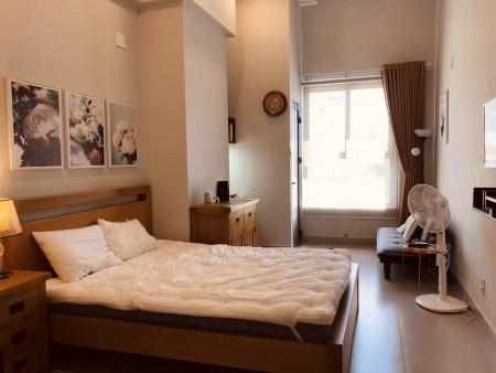 Căn hộ 1 Phòng ngủ Kingston Phú Nhuận Dt 40m2 cho thuê giá tốt chỉ 10Tr, 40m2, 1 phòng ngủ, 1 toilet