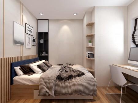 Cho thuê Centum Wealth 2PN=60m2 3PN=75m2 giá 7tr/thg nội thất tủ bếp dưới + bếp từ âm liên hệ 0932736182 Thảo, 62m2, 2 phòng ngủ, 2 toilet