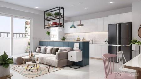 Riverside Bình Thạnh cần cho thuê căn hộ rộng 45m2, 1 PN, có sẵn đồ, giá 8 triệu/tháng, 45m2, 1 phòng ngủ, 1 toilet