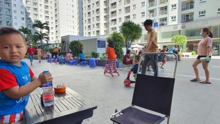 Cho thuê căn hộ MT Phan Văn Hớn Q12 DT 54m2, giá 6 triệu /tháng, 54m2, 2 phòng ngủ, 2 toilet