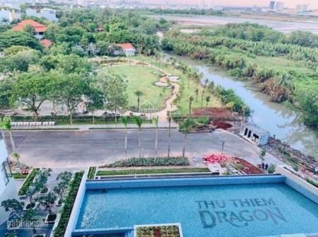 CHO THUÊ CĂN HỘ THỦ THIÊM DRAGON GIÁ TỐT, 485m2, 1 phòng ngủ, 1 toilet
