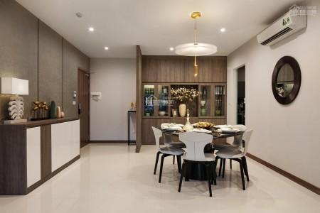 Căn hộ tầng cao chính chủ cho thuê rộng 95m2, 2 PN, có sẵn đồ, giá 12 triệu/tháng, cc The Manor, 95m2, 2 phòng ngủ, 2 toilet