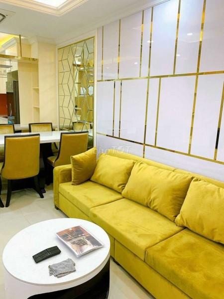 Cho thuê căn căn hộ 2 phòng ngủ, tổng diện tích 70m2 tại Âu Cơ Tower giá thuê 10tr, Full NT, 70m2, 2 phòng ngủ, 2 toilet