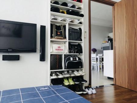 Cần cho thuê căn hộ chung cư The PegaSuite, 2PN, 61m2, Chỉ 9 triệu/tháng, đầy đủ tiện ích, 61m2, 2 phòng ngủ, 2 toilet