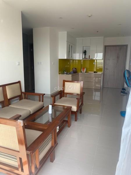 Cho thuê căn hộ tầng 15 tại chung cư Vincity Quận 9. 59m2, 2PN,1WC, full tiện nghi - nội thất, 59m2, 2 phòng ngủ, 1 toilet