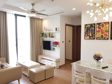 Gía tốt ở ngay cho thuê căn hộ 2PN - DT 68m2 nội thất cao cấp tại Vinhomes Greenbay, LH: 0968714626, 68m2, 2 phòng ngủ, 2 toilet