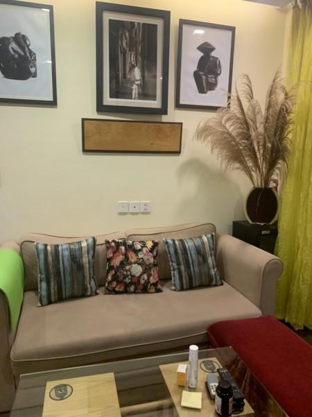 Cho thuê căn hộ Sky Central 176 Định Công, 2PN, full, chỉ 12tr., 76m2, 2 phòng ngủ,
