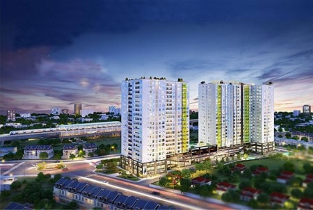 Cho thuê căn hộ dự án Lavita Garden thiết kế 2PN, 2WC, 71m2, 71m2, 2 phòng ngủ, 2 toilet