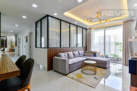 Cho thuê căn hộ The Botanica 3Pn, Dt 98m2, Full nội thất, Giá tốt #22TR, 98m2, 3 phòng ngủ, 2 toilet