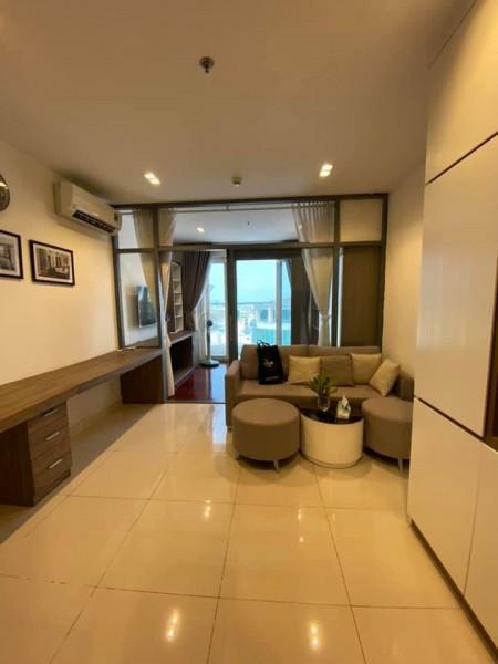 Cho thuê căn hộ 1PN chung cư Sky Center view sân bay siêu đẹp giá chỉ 10tr/th full nội thất. LH 0932 192 028-Mai, 40m2, 1 phòng ngủ, 1 toilet