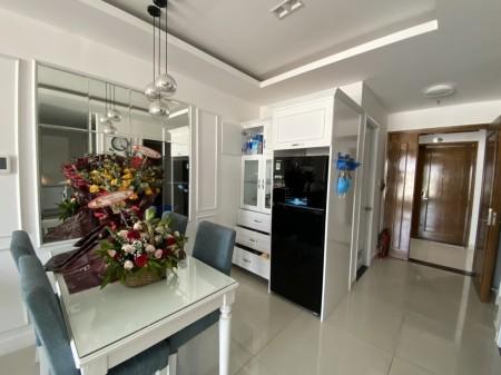 Chính chủ cần cho thuê gấp căn hộ 2PN-2WC-76m2 full nội thất chungcư Sky Center Phổ Quang giá 15tr/th.LH ngay 0932192028, 76m2, 2 phòng ngủ, 2 toilet