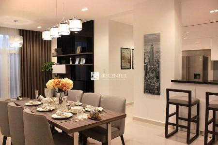 Cho thuê gấp căn hộ 3PN-2WC-96m2 full nội thất chung cư Sky Center Phổ Quang giá 17tr/th.LH 0932192028-Ms.Mai, 96m2, 3 phòng ngủ, 2 toilet