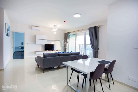 Căn hộ tầng cao rộng 124m2, 3 PN, cc Vista Verde, có sẵn đồ dùng, giá 23 triệu/tháng, 124m2, 3 phòng ngủ, 3 toilet