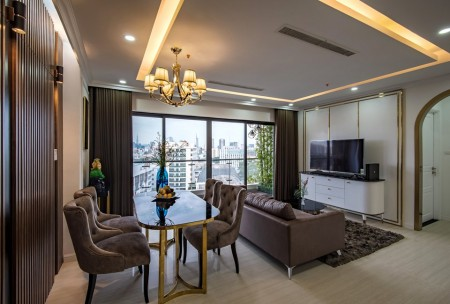 Chỉ 15 triệu/th - căn 2PN full nội thất đẹp Terra Royal Lý Chính Thắng, Quận 3 - LH: 0938800058, 60m2, 2 phòng ngủ, 1 toilet