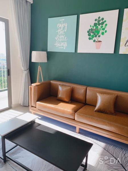 Căn 3 phòng ngủ,full nội thất tại chung cư The Sun Avenue cho thuê gấp 17 triệu bao phí., 89m2, 3 phòng ngủ, 2 toilet