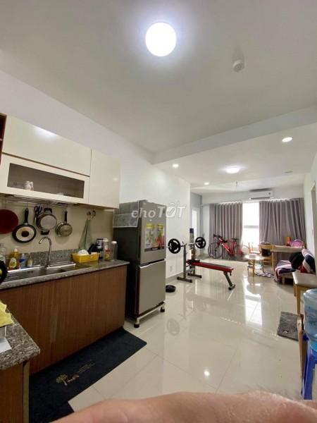 Cho thuê căn hộ 2 phòng ngủ tại dự án chung cư Citi Soho, 2PN, 1WC - Giá cực tốt, 60m2, 2 phòng ngủ, 1 toilet
