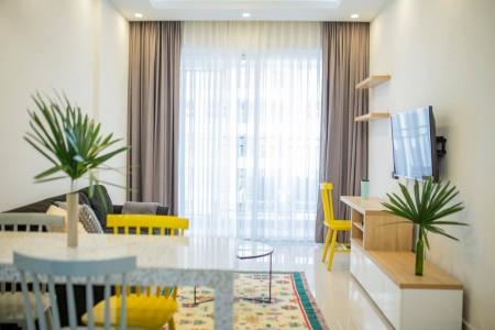 Cho thuê CH Golden Mansion 2PN, DT 70m2, Full nội thất đẹp, nhà mới Giá #15Tr, 70m2, 2 phòng ngủ, 2 toilet