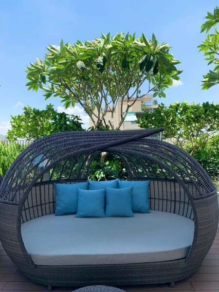 Cho thuê căn 1PN, 55m2, NTCB, giá tốt nhất dự One verandah. LH: 0902-685-087, 55m2, 1 phòng ngủ, 1 toilet