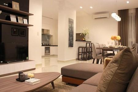 Căn hộ 2PN Sky Center DT 80m2, Nội thất mới tinh, nhà mới bàn giao, Giá 16 Triệu, 80m2, 2 phòng ngủ, 2 toilet