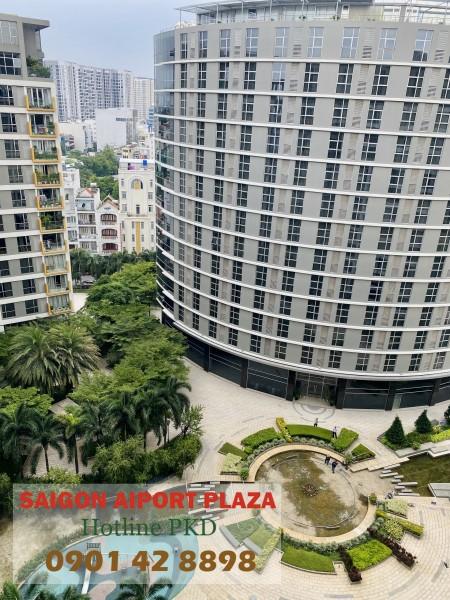 Chỉ 21 tr/th thuê ngay CH 3PN - 125m2 Sài Gòn Airport Plaza, đủ NT, cạnh sân bay TSN - 0901428898, 125m2, 3 phòng ngủ, 2 toilet