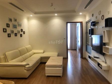 Căn hộ cao cấp đầy đủ nội thất tiện nghi, nhà mới tại khu đô thị Vinhomes Nguyễn Chí Thanh - Hà Nội, 55m2, 1 phòng ngủ, 1 toilet