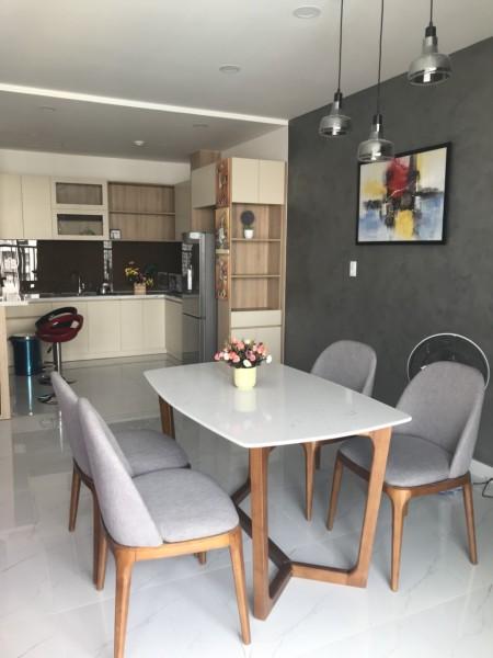 Cho thuê căn hộ 3PN-85m2 full nội thất chung cư Orchard Park View đường Hồng Hà full nội thất cao cấp giá 22tr/th, 85m2, 3 phòng ngủ, 2 toilet