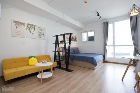Chủ cần cho thuê căn hộ rộng 33m2, 1 PN, có sẵn đồ dùng, cc Charmington, giá 13 triệu/tháng, 33m2, 1 phòng ngủ, 1 toilet