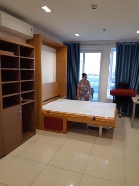 Căn hộ Sky Center Offictel 36m2, Full nội thất, tầng cao, thoáng mát, Giá chỉ #10Tr, 36m2, 1 phòng ngủ, 1 toilet