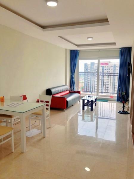 Cho thuê căn hộ chung cư lầu cao 76m2, 2PN, 2WC tại dự án Hiệp Thành Building, 76m2, 2 phòng ngủ, 2 toilet
