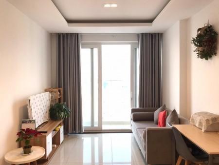 Cho thuê căn hộ Sky Center 2PN, nội thất thiết kế đơn giản #15tr - 0903 187 783 Thọ, 75m2, 2 phòng ngủ, 2 toilet