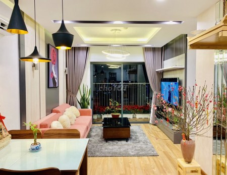 Căn hộ mới cho thuê giá cả rất hợp lý trong dự án chung cư The Everrich Infinity Quận 5, 80m2, 2 phòng ngủ, 2 toilet