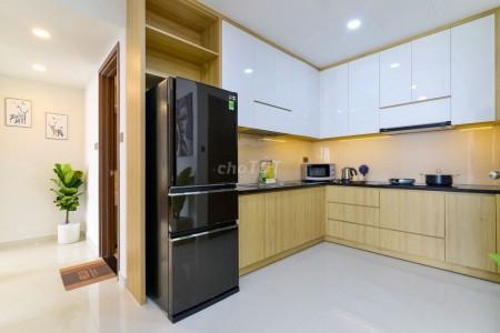 Mình cần cho thuê căn hộ rộng 90m2, 3 PN, có sẵn nội thất, cc Viva Riverside giá 12.5 triệu/tháng, 90m2, 3 phòng ngủ, 2 toilet