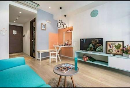 Chủ có căn hộ trống 32m2, thiết kế dạng Studio, 1 PN giá 12 triệu/tháng, cc The Tresor, LHCC, 32m2, 1 phòng ngủ, 1 toilet
