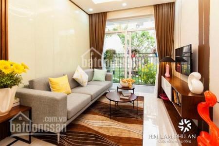 Cho thuê căn hộ 2 PN, dtsd 72m2, thiết kế thông minh, có sẵn đồ dùng, cc Him Lam Quận 9, giá 6 triệu/tháng, 72m2, 2 phòng ngủ, 2 toilet