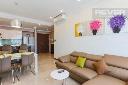 Cần cho thuê căn hộ River Gate - Quận 4 - 2PN2WC-giá 17 triệu, 74m2, 2 phòng ngủ, 2 toilet